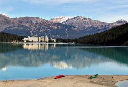 Fairmont Chateau Hotel, Lake Louise, Banff National Park, Canada
