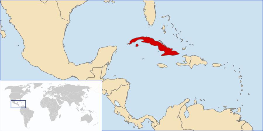 Location Cuba