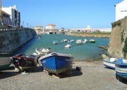 Der Hafen von Peniche