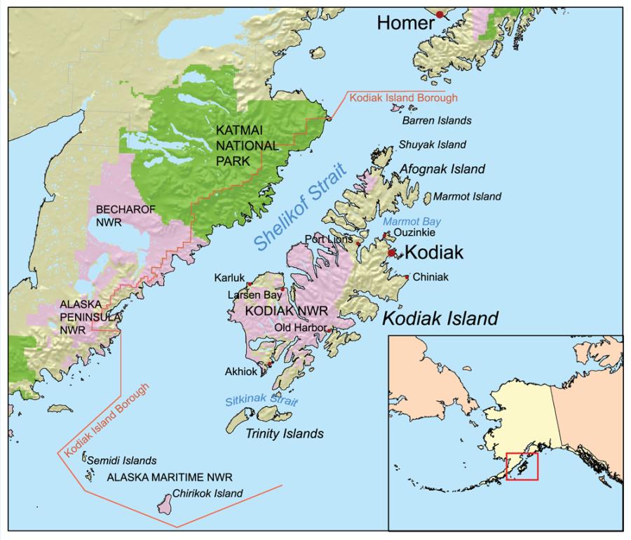 Kodiak-Archipel