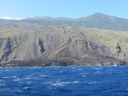 Vulkan San Martin - Lavastrom