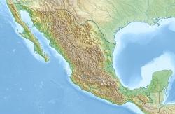 Positionskarte von Mexiko