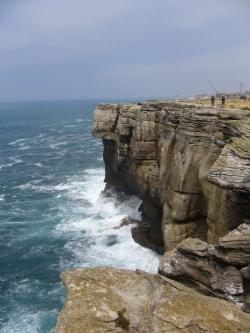 Steilküste bei Peniche, Blick nach Osten