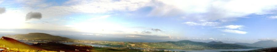 Panorama von Valentia Island